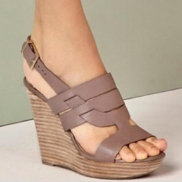 605eeb8d9fc9 Sole Society  Jenny  Slingback Wedge Sandals